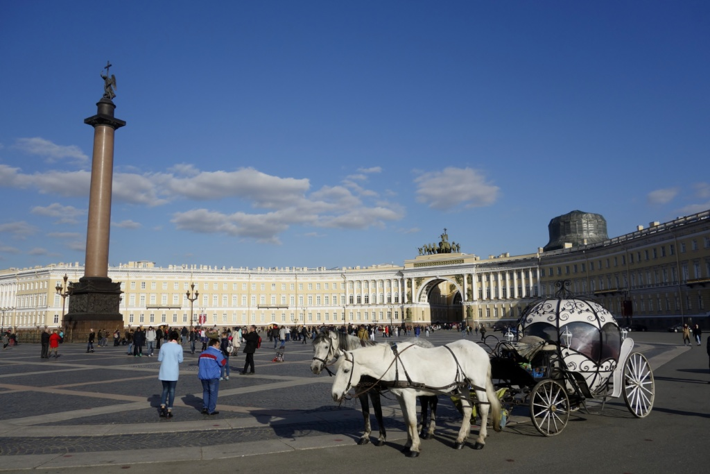 Best things to do in Saint Petersburg | Best Cities | No. 9: Saint Petersburg | Palace Square with Alexander Column