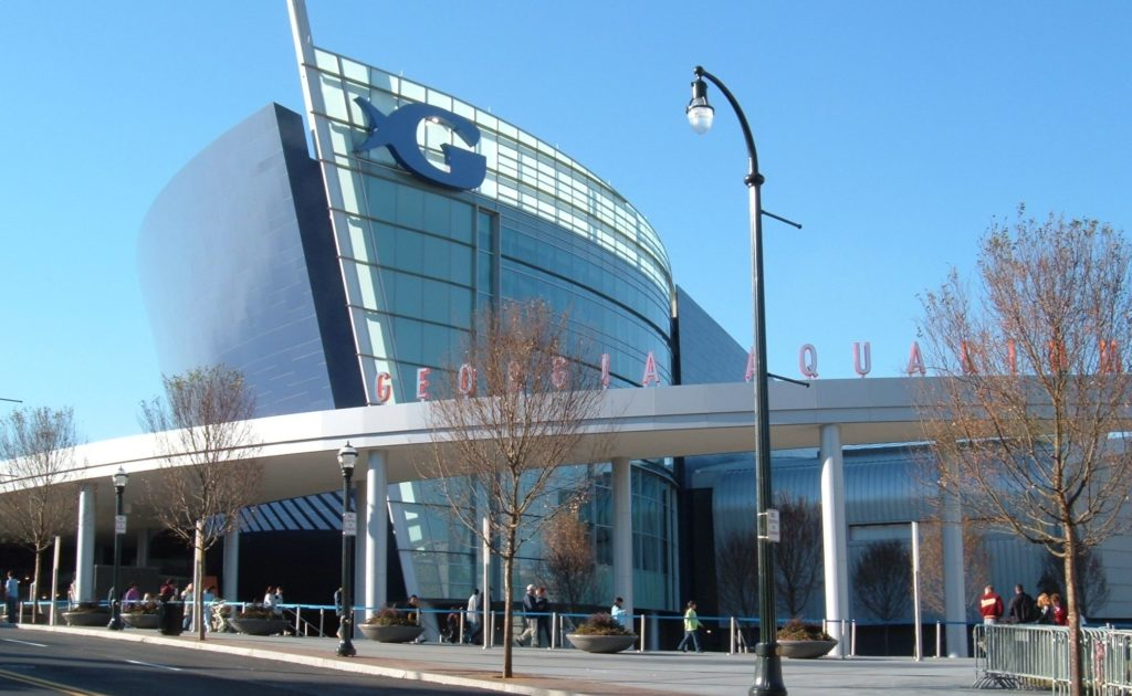 Best aquariums in the World 2017 | Georgia Aquarium Exterior View | Wordcitiesranking.com