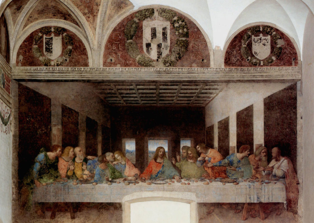 Best Things to do in Milan | Best Cities | Milan | THE LAST SUPPER (mural painting by Da Vinci ca. 1490 AD)