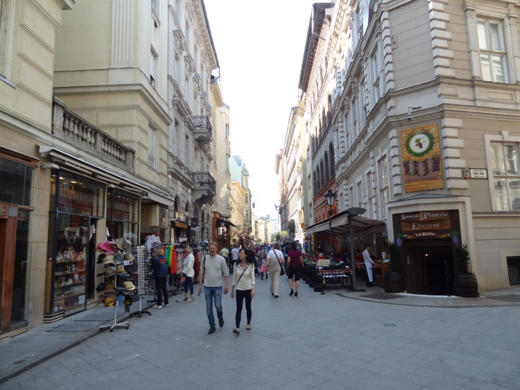 Best Things to do in Budapest | Best Cities | Budapest | Vaci Utca (street)