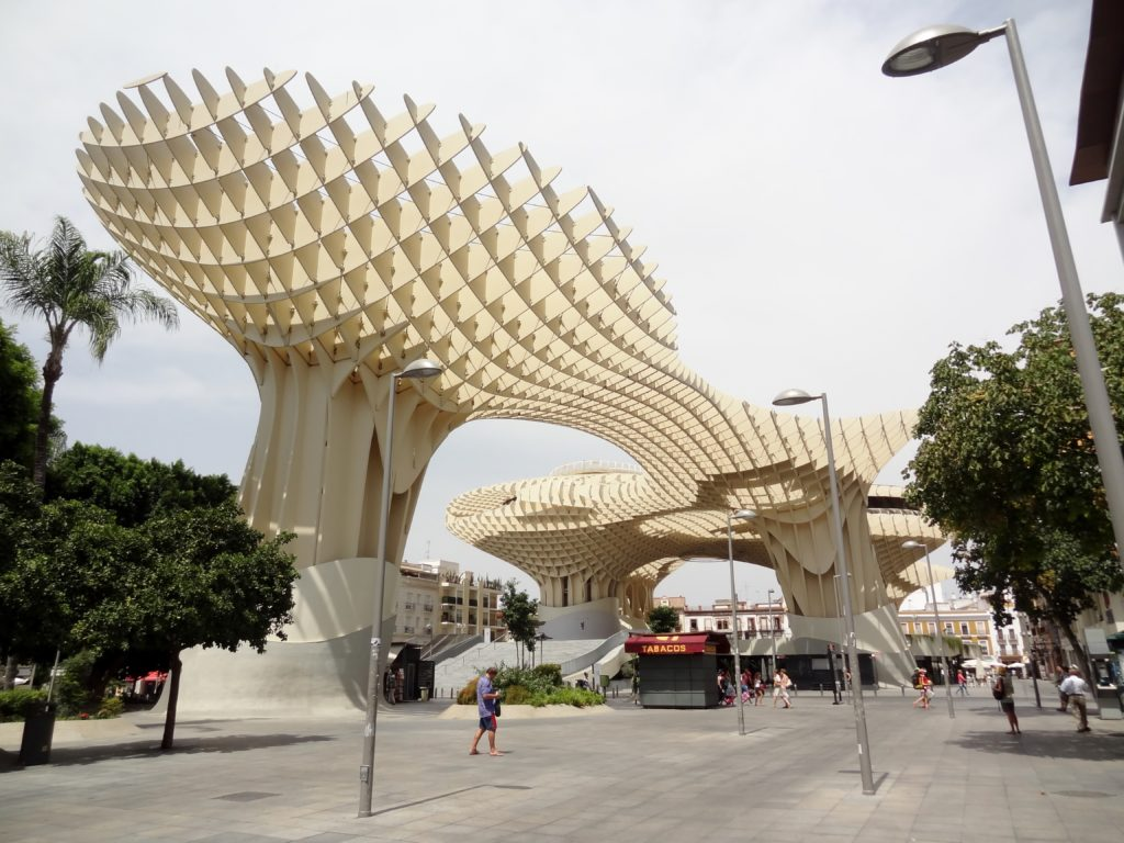 Best Things to do in Seville | Best Cities in the World | Seville | Metropol Parasol (view, modern building)